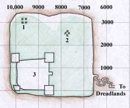 Map of The Lost Valley - The Dreadlands - Kunark