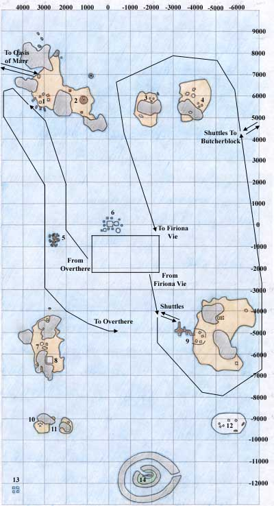 Map of Timorous Deep - Kunark